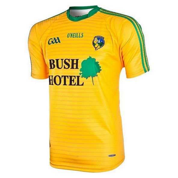 O'Neils Leitrim Away Jersey Yellow