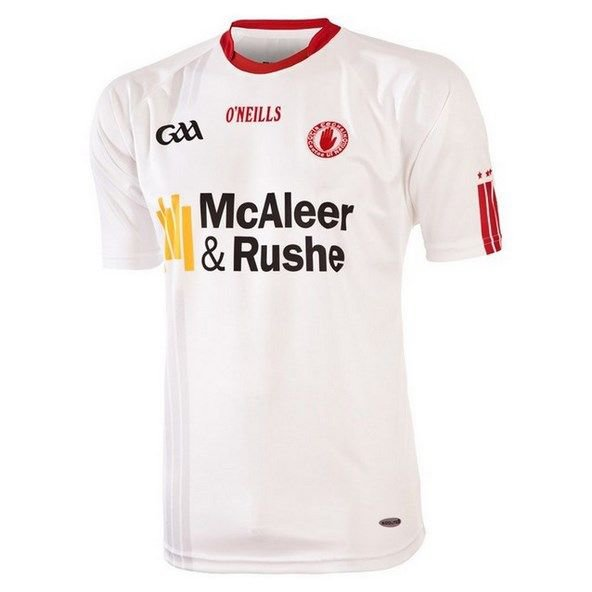O'Neills Tyrone Home Jersey 15 Wht/Red