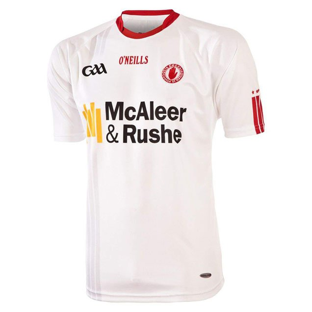 O'Neills Tyrone Hm Kid Jersey 15 Wht/Red