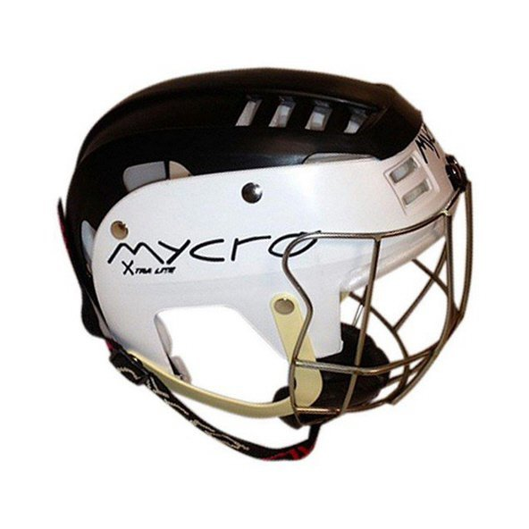 Mycro Adult 2-Tone Helmet, Black/White