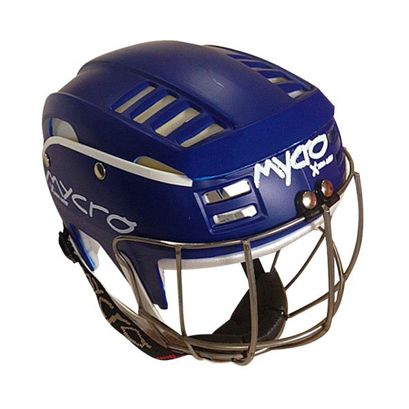 Mycro Kids Pin Stripe Helmet Blue/White