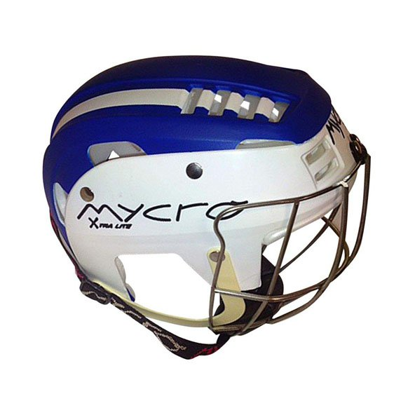 Mycro Kids Stripe Helmet Blue/White