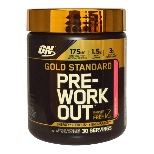 Optimum Nutrition Gold Standard Pre-Work Out Watermelon