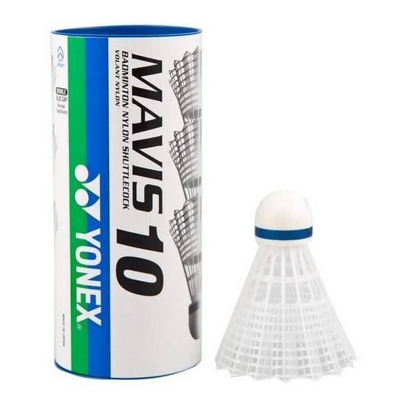 Yonex Mavis 10 Synthetic Shuttles 3pk Wh e3448f729a