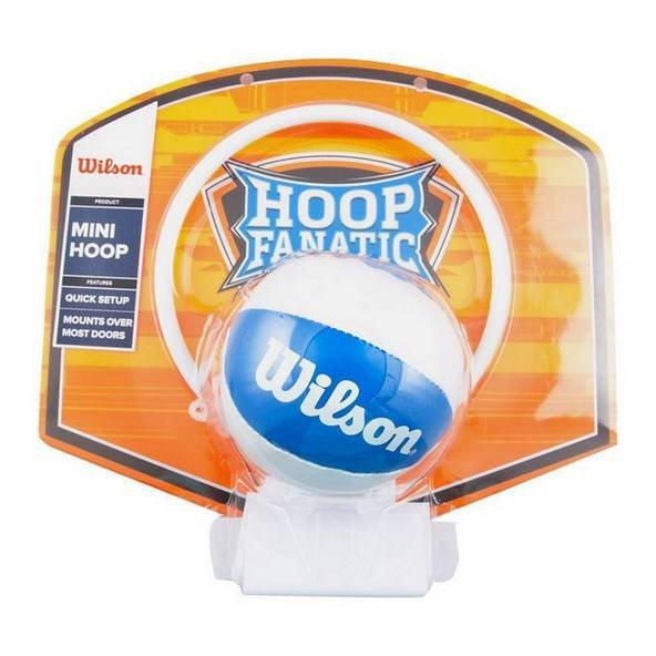 Wilson Mini Basketball Set, Orange