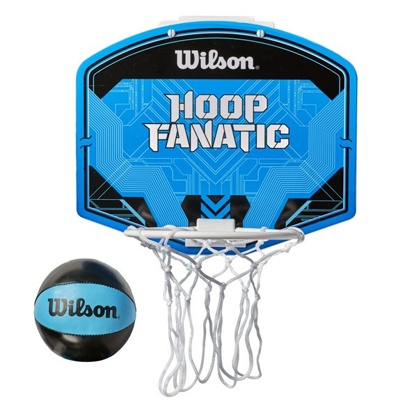 Wilson Mini Basketball Set, Blue