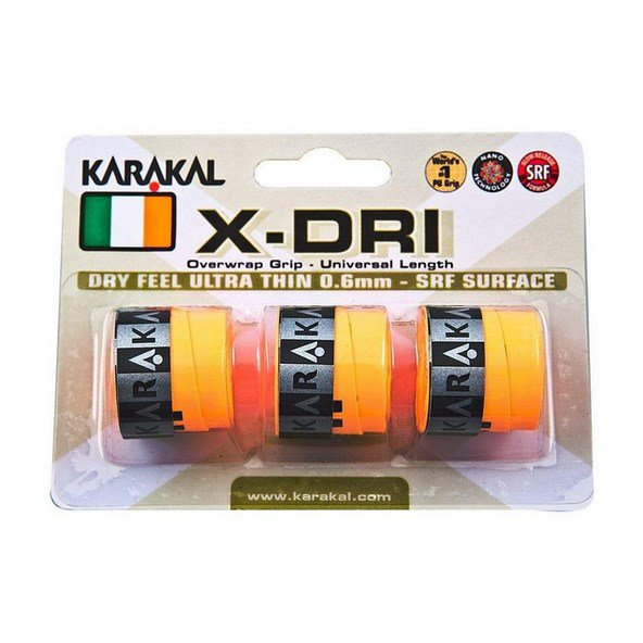Karakal X-Dri Replacement Grip x3