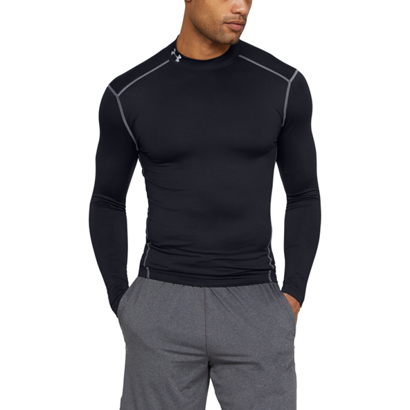 Under Armour® ColdGear Men's Mock Baselayer Black