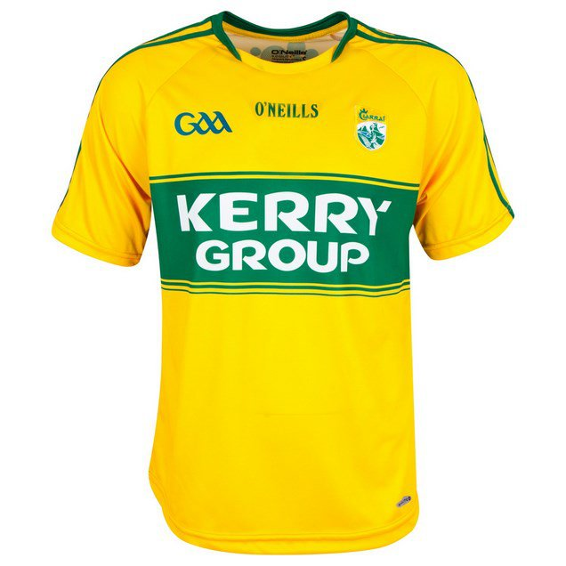 O'Neills Kerry GK 15 Jersey Yellow