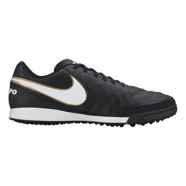 Nike Tiempo Genio II Leather TF Blk/Wht