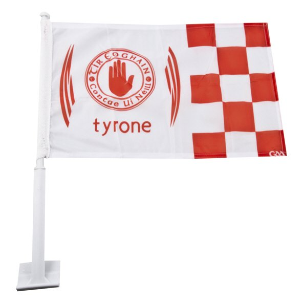 Introsport Tyrone Car Flag