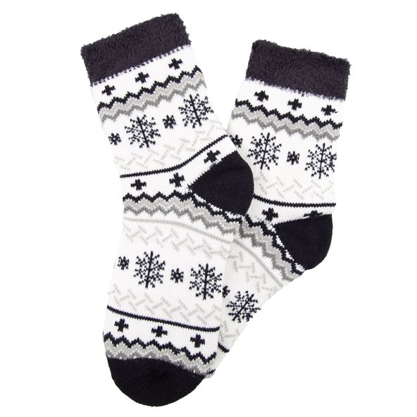 Yaktrax Aloe Cabin Socks Black