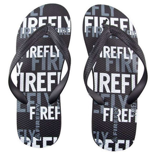 Firefly Madera Mens Poolshoe Black/Grey