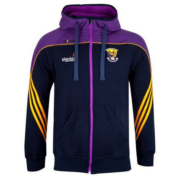 O'Neills Wexford Parnell FZ Hoody Nvy/Pu