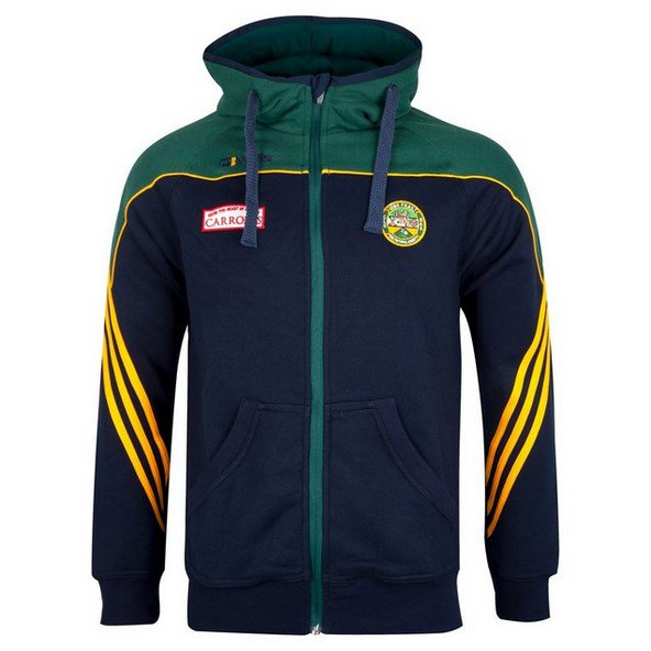 O'Neills Offaly Parnell FZ Hoody Nv/Grn