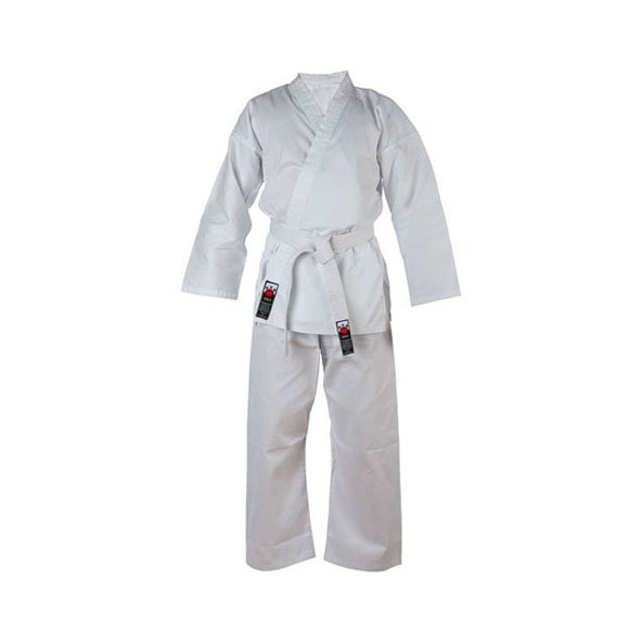 Cimac Karate Kids' Uniform 120cm White