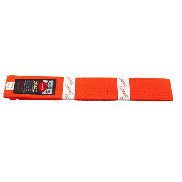 Cimac Karate Belt 280cm Orange