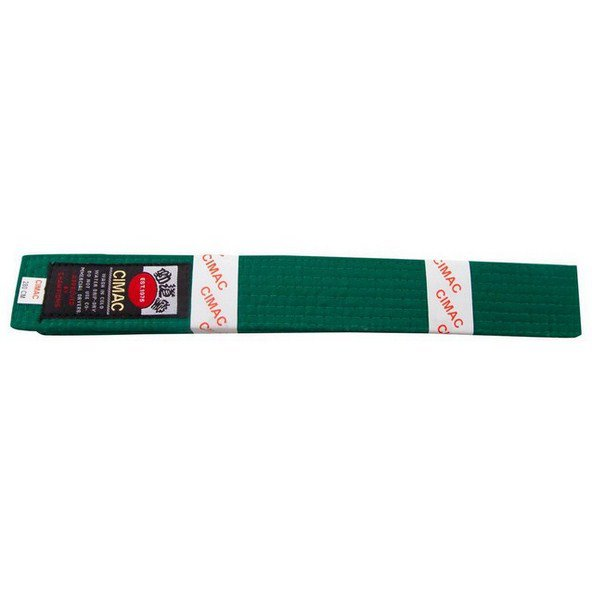 Cimac Karate Belt 240cm Green