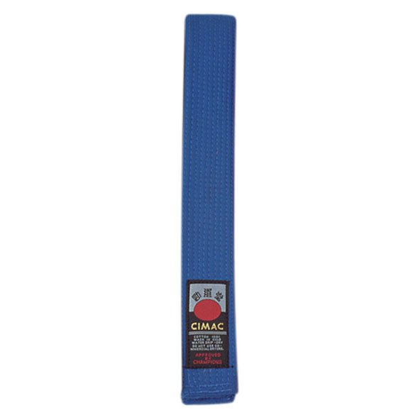 Cimac Karate Belt 240cm Blue