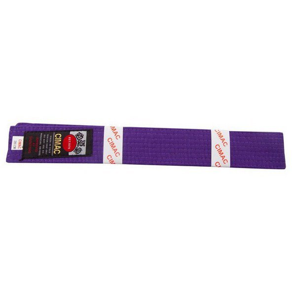 Cimac Karate Belt 240cm Purple