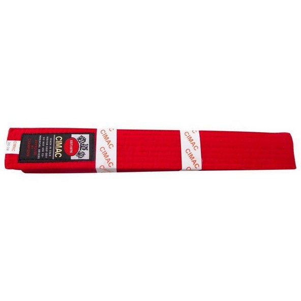 Cimac Karate Belt 280cm Red
