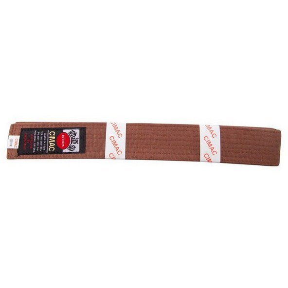 Cimac Karate Belt 240cm Brown