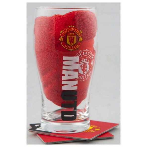 Man Utd Mini Bar Set