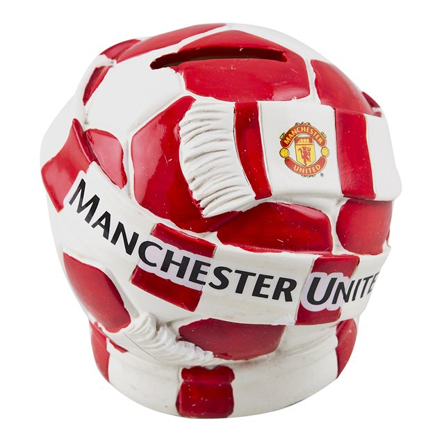 Man Utd Beanie Piggy Bank