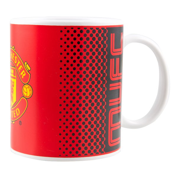 Man United 11oz Bullseye Mug