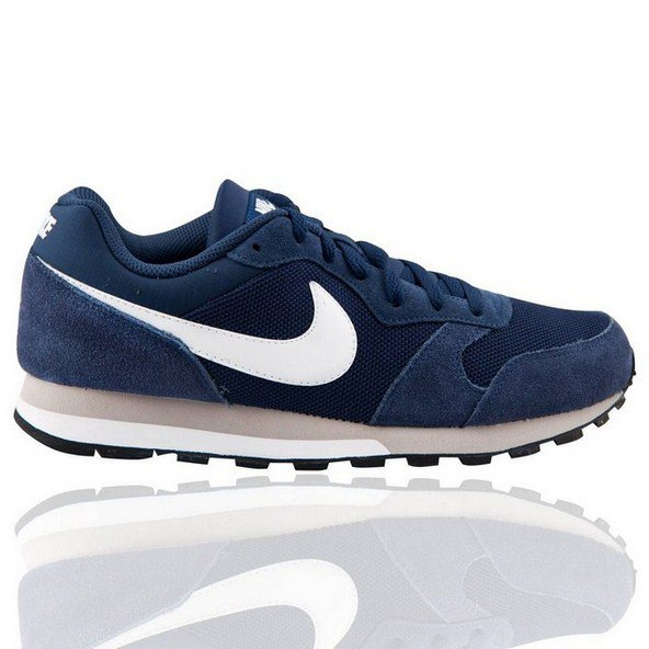 Nike MD Runner Mens Shoe Nvy/Wht