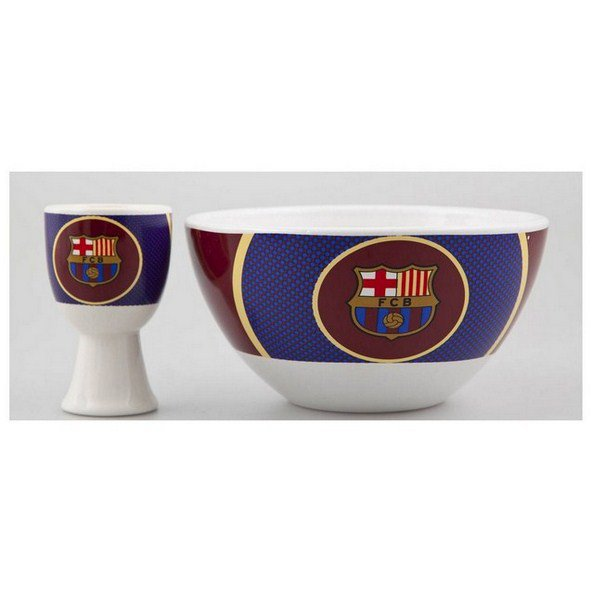 Barcelona Cereal Bowl & Egg Cup Set