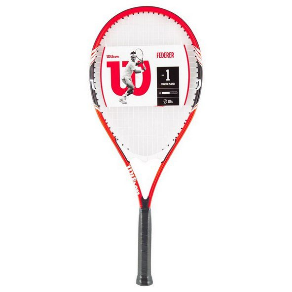 Wilson Federer Tennis Racket Red/Black/White