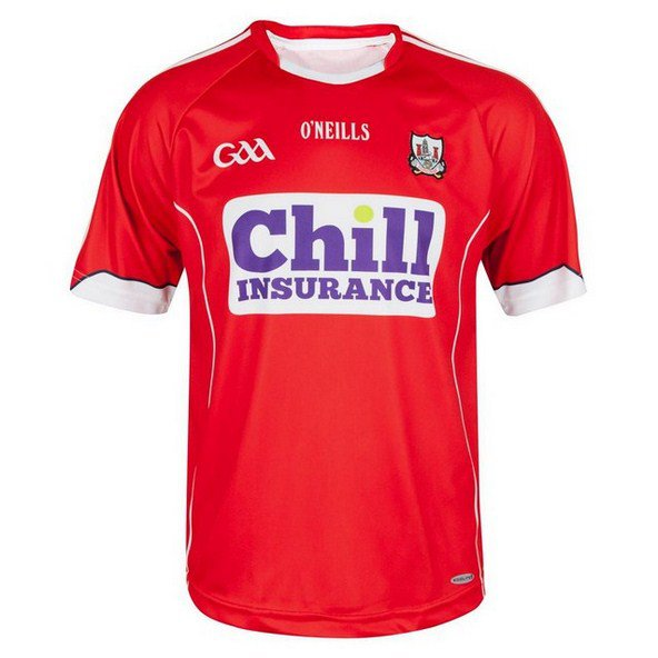 O'Neills Cork 2016 Home Jersey Red