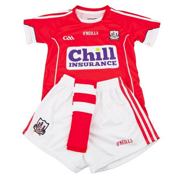 O'Neills Cork Home 16 Kids Kit Red/Wht
