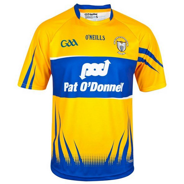 O'Neills Clare Home 16 Jersey Amber/Roya