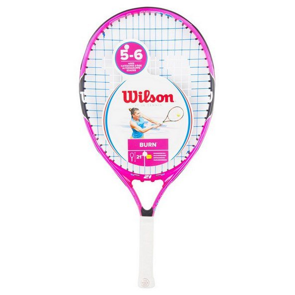Wilson Burn 21'' Junior Tennis Racket Pink