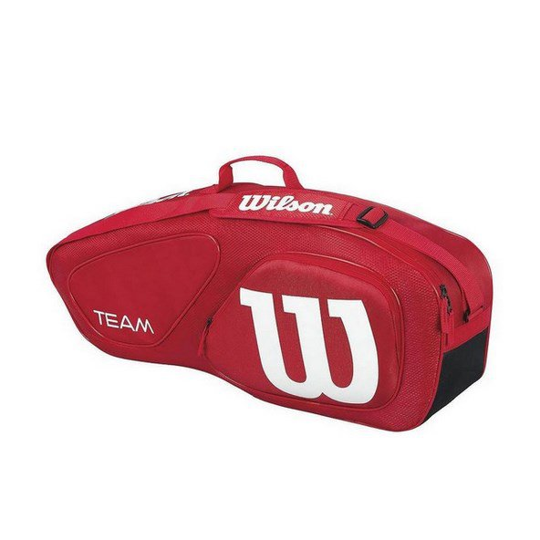 Wilson Team II 3 Pack Tennis Bag Red