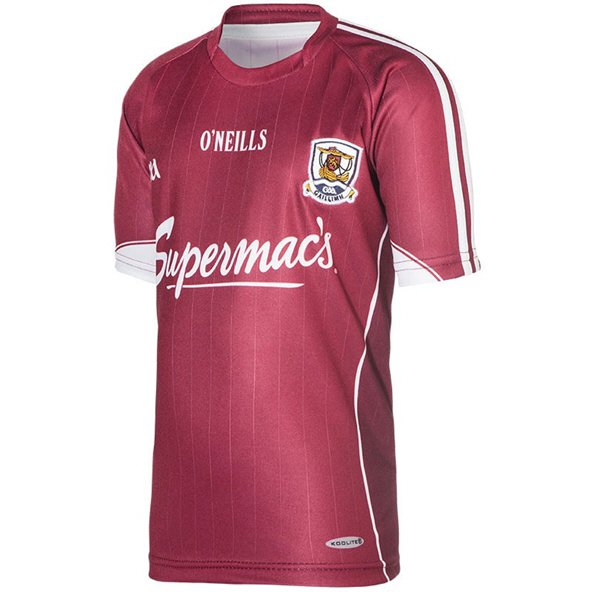 O'Neills Galway 2016 Kids' Home Jersey, Maroon