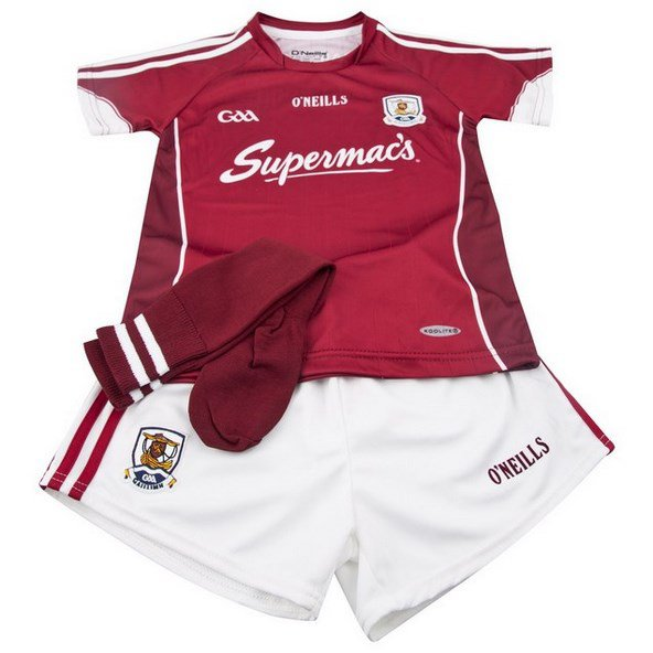 O'Neills Galway Hm 16 Kids Kit Maroon/Wh