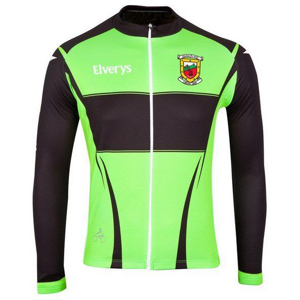 O'Neills Mayo Cycling Jersey Green/Red