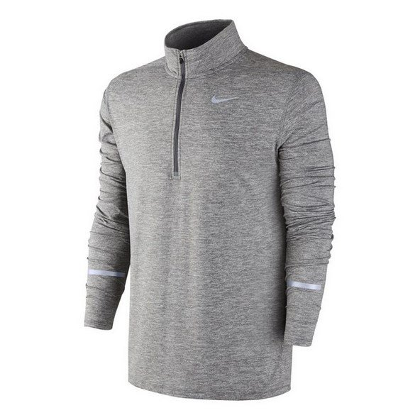 Nike Element Men's ½ Zip Running Top, Grey