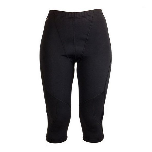 EVB Sports Womens Capri Blk
