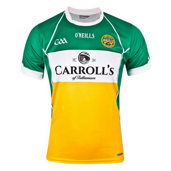 O'Neills Offaly Home Jersey 16 Green/Wht