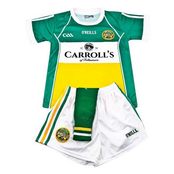 O'Neills Offaly 2016 Home Kids' Kit, Green