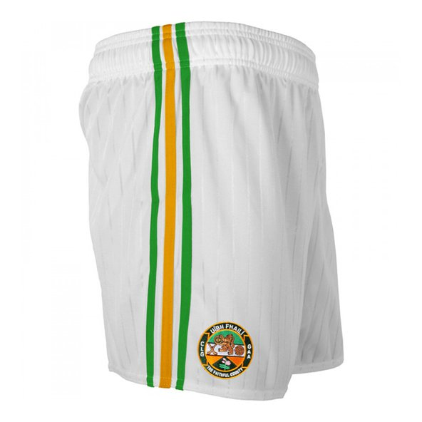 O'Neills Offaly Hm Kids Shorts 16 Wht/Gr