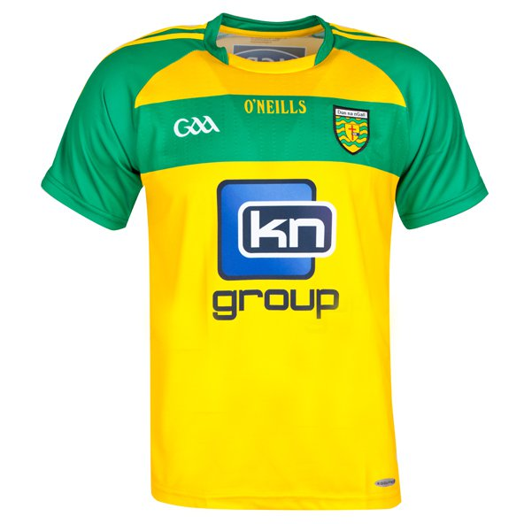 O'Neills Donegal 2016 Kids' Home Jersey Yellow