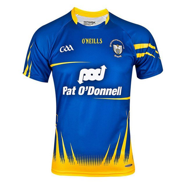 O'Neills Clare GK Jersey 16 Royal/Amber
