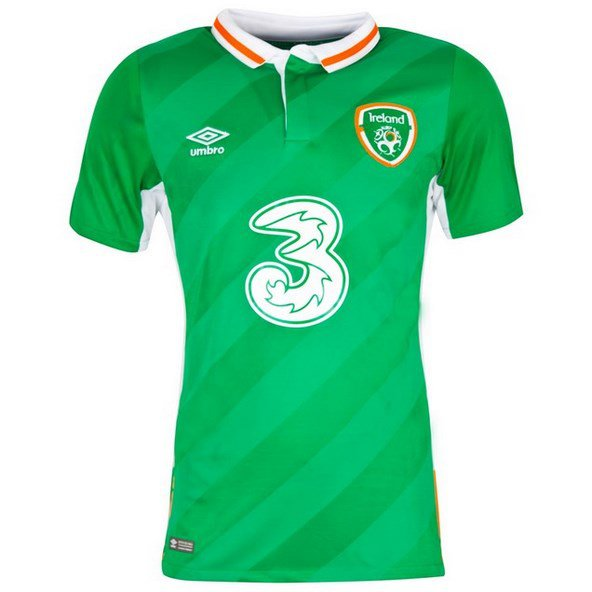 Umbro Ireland Euro 2016 Jersey Green