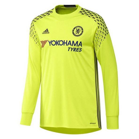 adidas Chelsea 2016/17 Home Goalkeeper Jersey Yellow