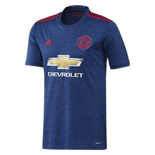 adidas Man United 2016/17 Away Jersey Blue